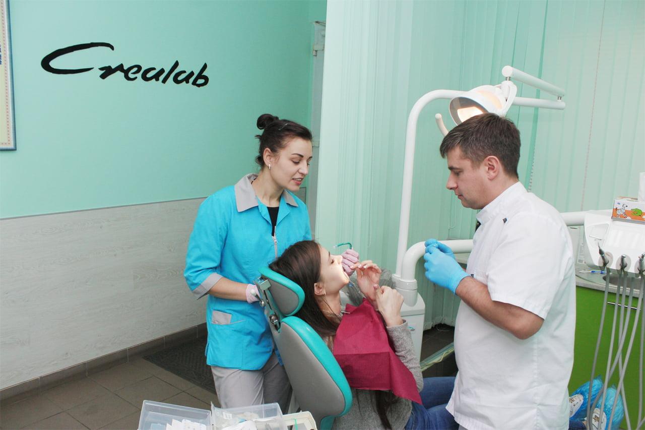 Услуги клиники Crealab в Одессе