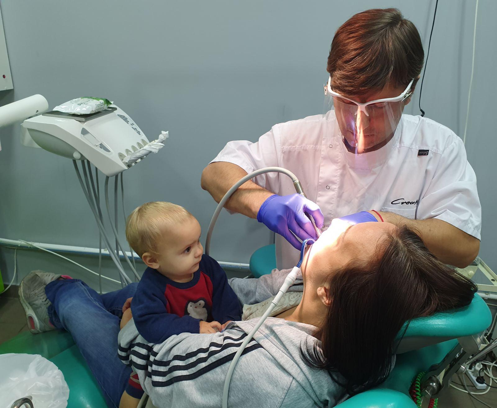 Работа с пациенкой и ребенком