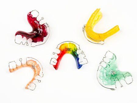 Пластинки ортодонтические